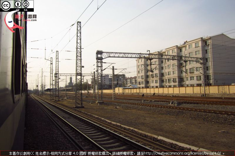 Approaching Baotou East Sta.JPG