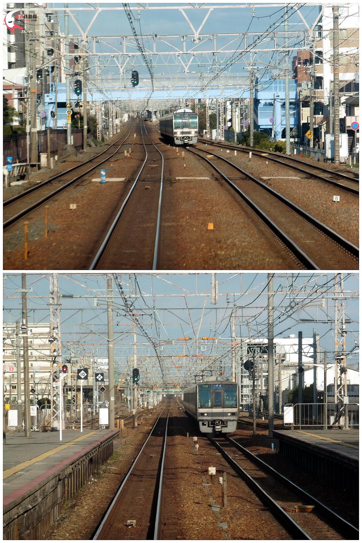 前面展望【2】--jr东海道本线【三宫--大阪】.电车go线路!